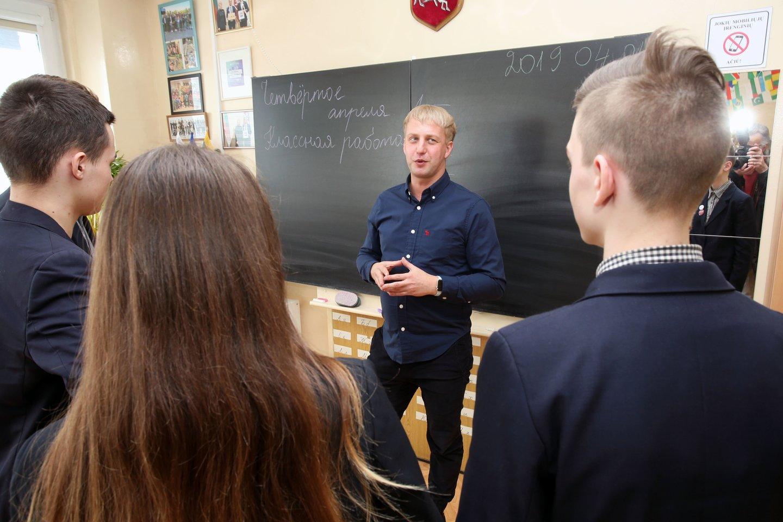 S.Kozlovas pirma tapo žurnalistu, paskui - mokytoju.<br>M.Patašiaus nuotr.