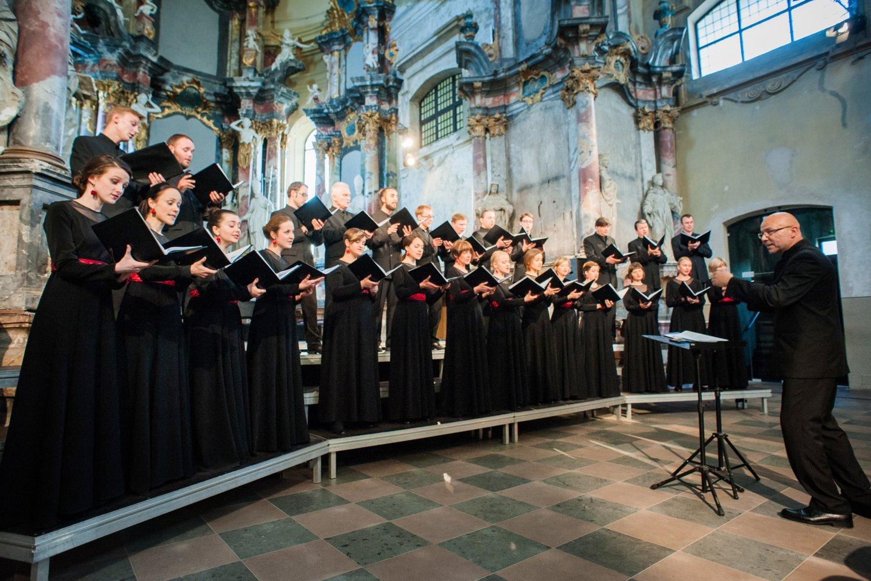 """Choras """"Jauna muzika"""" parengė velykinį koncertą.<br>T.Lukšio nuotr."""