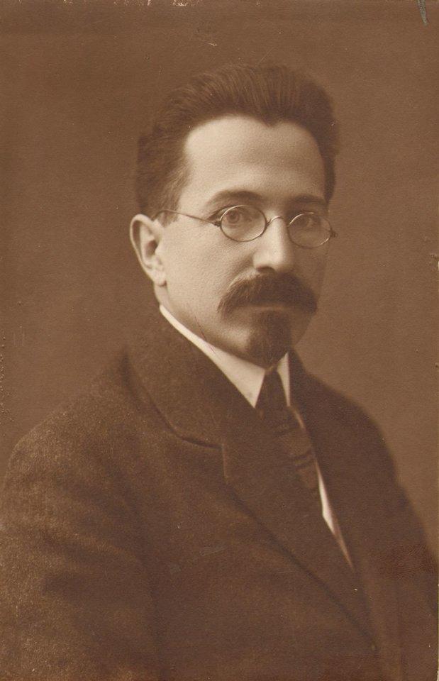 Aleksandras Timinskis 1884–1959 – vienas ryškiausių rusų intelektualų tarpukario Kaune, 1922 m.<br>Lietuvos švietimo istorijos muziejaus nuotr.