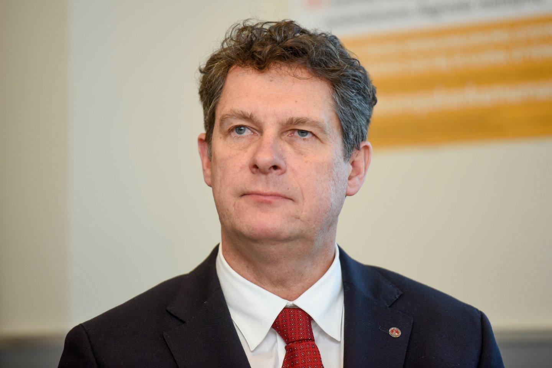 Gydytojas genetikas, Vilniaus universiteto Medicinos fakulteto dekanas profesorius Algirdas Utkus.<br>D.Umbraso nuotr.