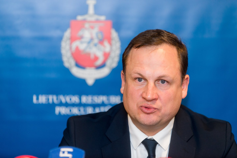 E.Pašilis viešai sakė netiesą, kai kalbėjo apie jo globojamo prokuroro pasiekimus.<br>J.Stacevičiaus nuotr.