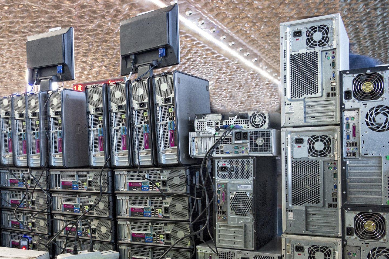 Per pirmąjį metų ketvirtį pasaulyje parduota 58,5 mln. asmeninių kompiuterių – 4,6 proc. mažiau nei prieš metus.<br>123RF nuotr.
