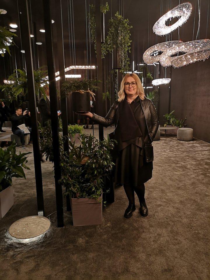 Interjero dizainerė Kristina Grybaitė.<br>Kristinos Grybaitės nuotr.