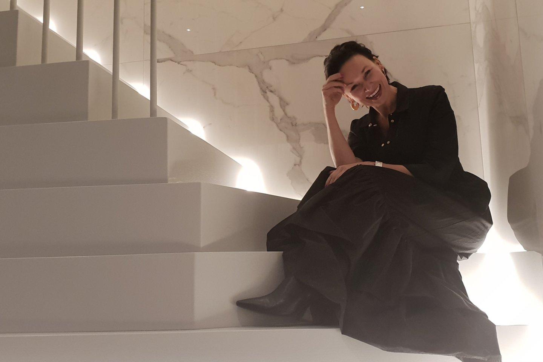 Architektė Edita Stankevičiūtė-Righetto.<br>Editos Stankevičiūtės-Righetto nuotr.
