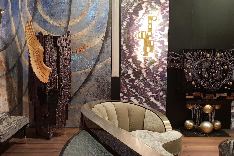 Jau ne pirmus metus parodoje vyraujanti tendencija – autorinių baldų, sukurtų bendradariaujant su dailininkais, sėkmė.<br>Eglės Mieliauskienės nuotr,