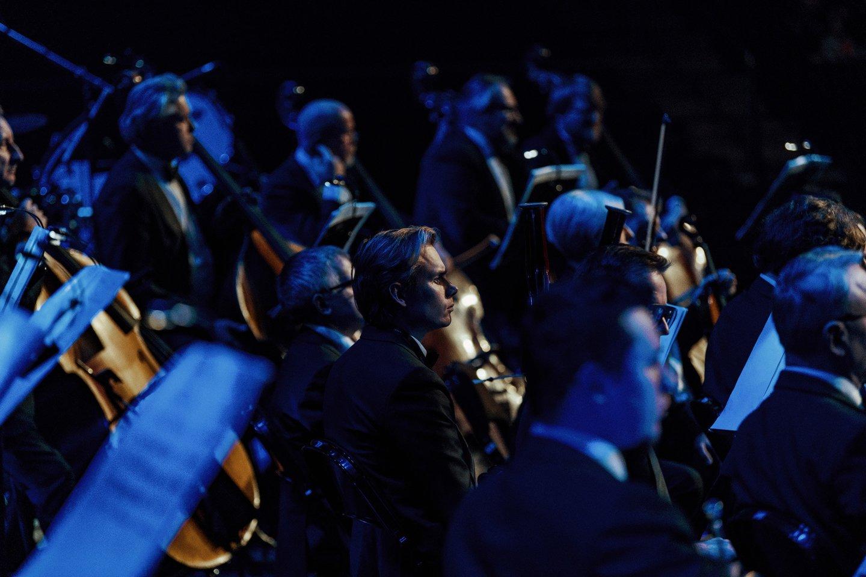 """Balandžio 26 d. 19 val. """"Compensa"""" koncertų salėje G.Holsto """"Planetas"""" atliks Lietuvos valstybinis simfoninis orkestras, diriguojamas maestro Gintaro Rinkevičiaus.<br>Organizatorių nuotr."""