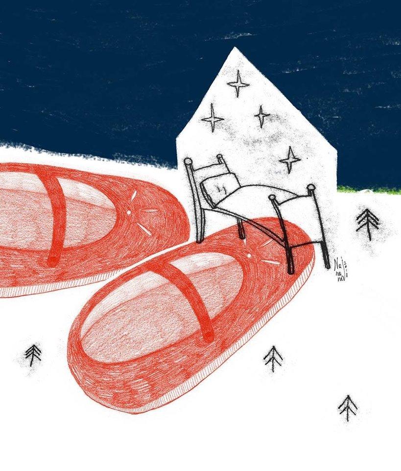 """Vos pasirodžiusi lietuvių poeto klasiko Justino Marcinkevičiaus eilėraščių vaikams rinktinė """"Vaikų žemė"""" jau pradeda savo kelionę po pasaulį. Tarptautinėje parodoje """"Sarjah Children's Book Illustrations"""" Jungtiniuose Arabų Emyratuose šiomis dienomis eksponuojamos knygos iliustracijos, kurias sukūrė Agnė Kananaitienė-Nananai.<br>Asmeninio albumo nuotr."""