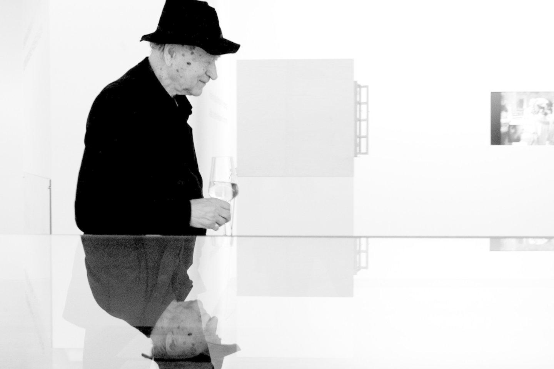 Rašytojas, kino avangardininkas J.Mekas.<br>R.Danisevičiaus nuotr.