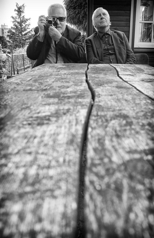 Fotomenininkas A.Sutkus.<br>R.Danisevičiaus nuotr.
