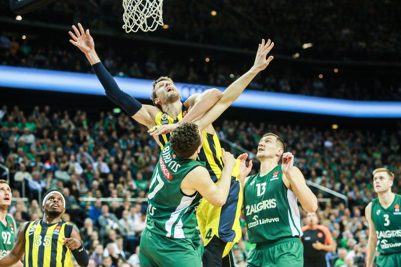 Kauno klubą palaiko NBA žaidęs krepšininkas.<br>G.Bitvinsko nuotr.