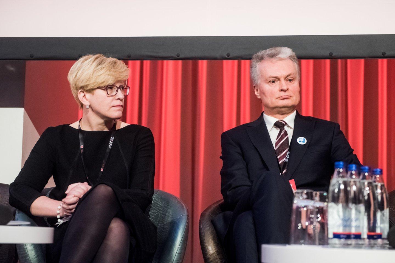 Ingrida Šimonytė aplenkė ilgalaikį reitingų lyderį Gitaną Nausėdą.<br>D.Umbraso nuotr.