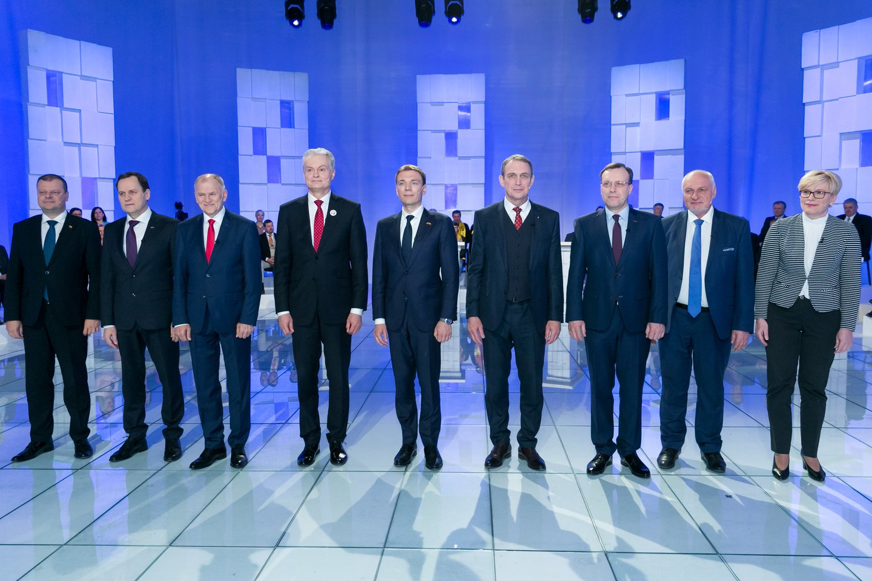Prezidento rinkimai rengiami gegužės 12 dieną.<br>T.Bauro nuotr.