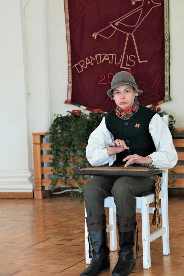 """Vaikų ir moksleivių – liaudies kūrybos atlikėjų – konkursas """"Tramtatulis""""<br>Rengėjų nuotr."""