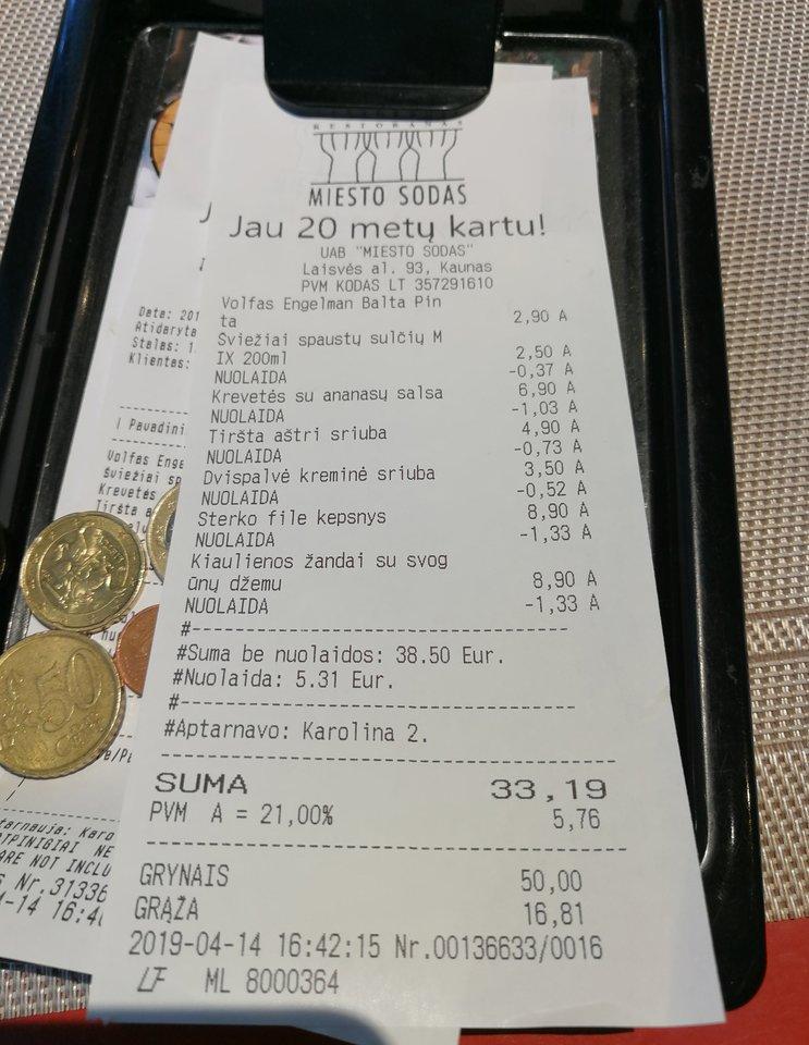 """Kauno restoranas """"Miesto sodas"""".<br>Nuotr. iš """"Riebus katinas""""."""