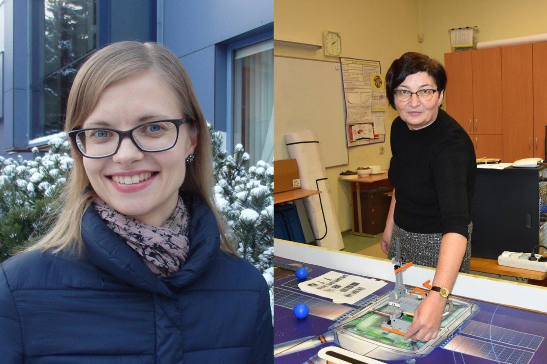 Pagerbti pedagogai – įteiktos Metų mokytojų premijos ir diplomai.<br>Asmeninio albumo ir A.Murauskaitės nuotr.
