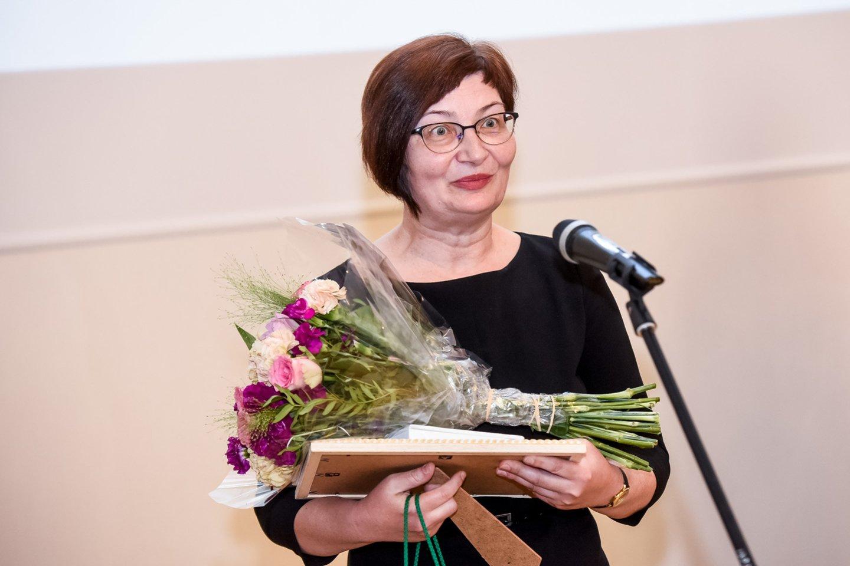 Dr. Renata Burbaitė, Panevėžio Juozo Balčikonio gimnazijos informacinių technologijų vyresnioji mokytoja.<br>D.Umbraso nuotr.