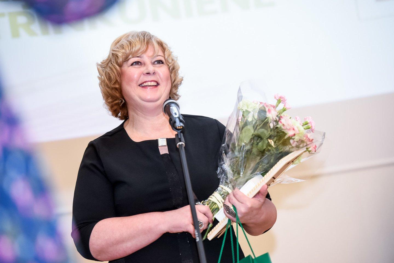 Nijolė Trinkūnienė, Ignalinos kultūros ir sporto centro Dailės studijos vadovė, neformaliojo vaikų švietimo (dailės) mokytoja ekspertė.<br>D.Umbraso nuotr.