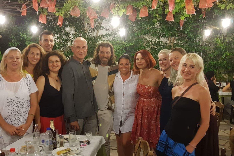 PrieniškėViktorija Gribinaitė-Naki įsitvirtino Graikijoje – su šeima ji gyvena Atėnuose. Moteris daug prisideda prie lietuvių bendruomenės veiklos.<br>Asmeninio albumo nuotr.
