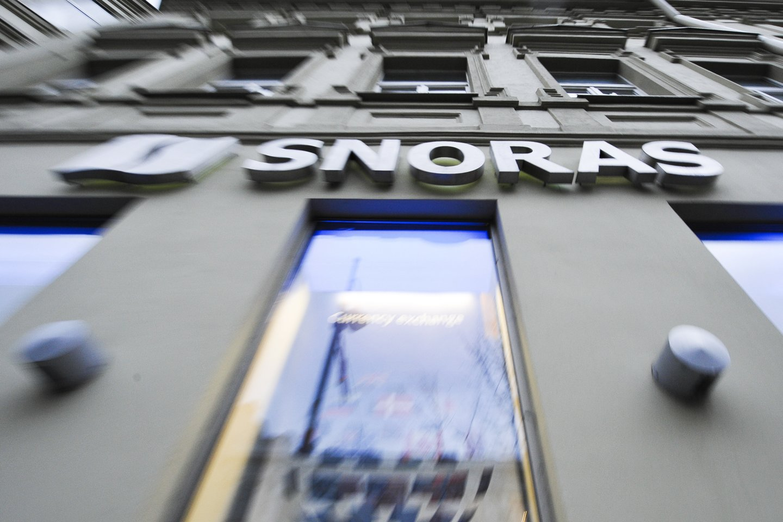 """""""Snoro"""" banko uždarymo istorijos dar ilgai negalėsime išbraukti iš istorijos.<br>V.Ščiavinsko nuotr."""