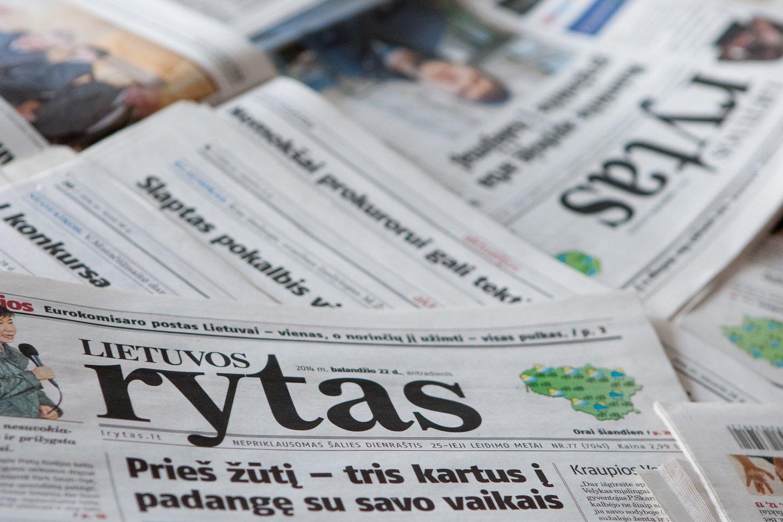 """""""Lietuvos ryto"""" pokyčiai – dienraštis bus leidžiamas 3 kartus per savaitę.<br>D.Umbraso nuotr."""