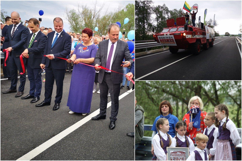 Atidaryme dalyvavo ministras pirmininkas Saulius Skvernelis ir susisiekimo ministras Rokas Masiulis.<br>R. Žalgevičiaus nuotr.