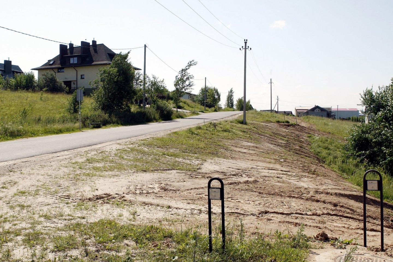 Bokštą planuojama statyti Tarandėje.<br>R.Danisevičiaus nuotr.