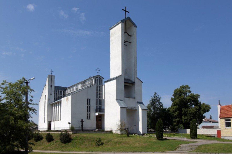 Senosios Varėnos bažnyčia.<br>Varėnos rajono savivaldybės nuotr.