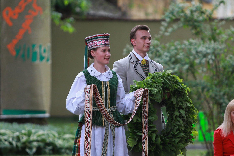 Laureato apdovanojimo ceremonijos Kaune akimirka.<br>G.Bitvinsko nuotr.