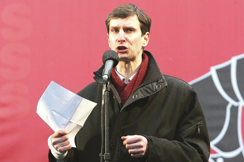 A.Paleckis įtariamas perdavinėjęs Rusijai duomenis apie Lietuvos pareigūnus.