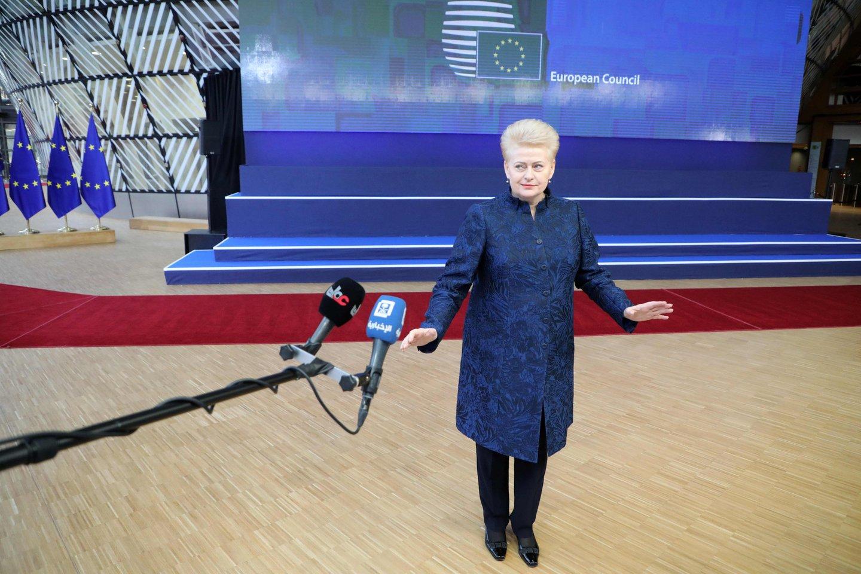 ES prasideda postų dalybos: 7 Dalios Grybauskaitės stiprybės ir silpnybės.<br>AFP/Scanpix nuotr.