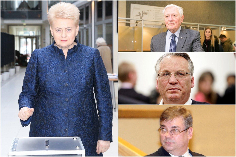 D.Grybauskaitė buvo nurodžiusi kelti bylas V.Adamkui, M.Laurinkui ir A.Pociui<br>lrytas.lt montažas.