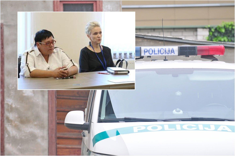 """""""Sfinkso"""" klubo trenerė Diana Arlauskaitė (kairėje) tikina bandžiusi paauglius raminti, tačiau šie išsigando tik kviečiamos policijos.<br>lrytas.lt fotomontažas"""