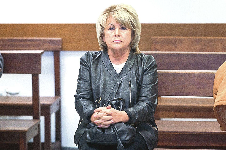 Nusikalstamą grupuotę subūrusi ir jai vadovavusi A.Skučienė laisvės nepraras.