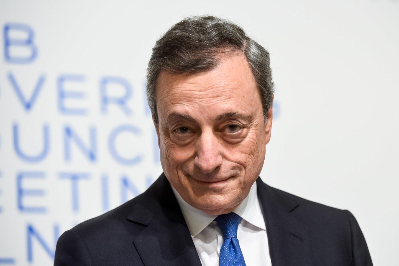 M.Draghi.<br>D.Umbraso nuotr.