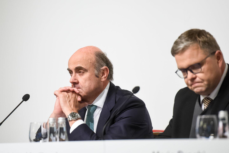 Luisas de Guindosas, ECB viceprezidentas.<br>D.Umbraso nuotr.
