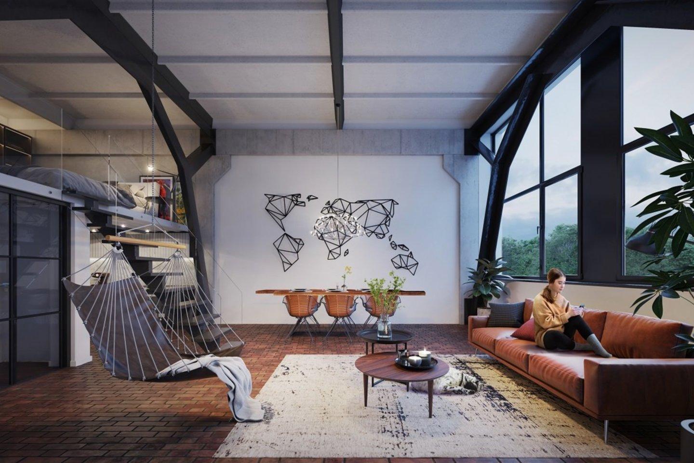 Savanorių pr. įgyvendinamas didžiausias loftų projektas.<br>vizual.