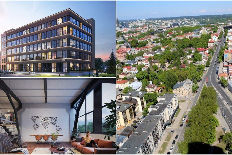 Vilniuje su trenksmu imta keisti ne itin patrauklaus rajono veidą – vertinkite
