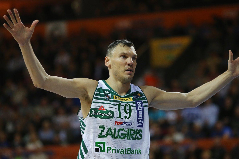 Šarūnas Jasikevičius.<br>G.Šiupario nuotr.