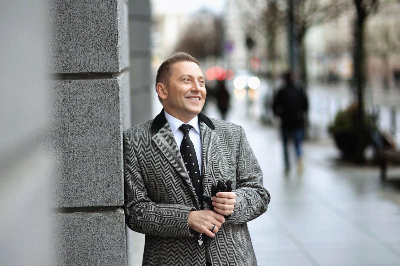 Lietuvos gėjų lygos pirmininkas Vladimiras Simonko.<br>LR archyvo nuotr.