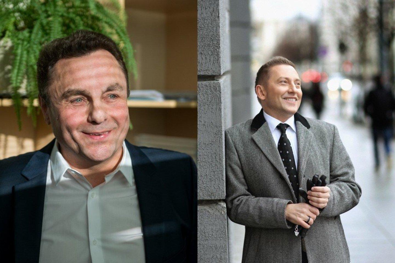 P. Gražulis ir V. Simonko.<br>LR archyvo nuotr.