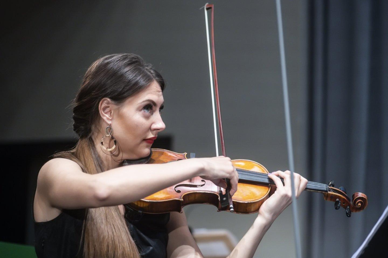 """Ansamblis """"Synaesthesis"""" Vilniaus festivaliui parengė konceptualią programą """"Abipus Geležinės uždangos"""".<br>D.Matvejevo nuotr."""