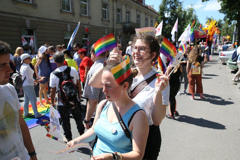 """""""Baltic pride"""" eitynės.<br>R.Danisevičiaus nuotr."""