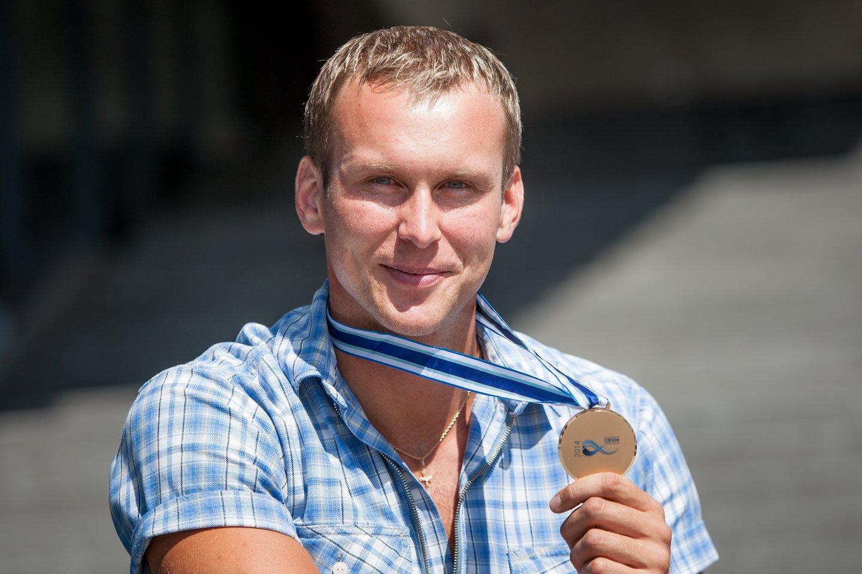 Jevgenijus Šuklinas diskvalifikuotas ir privalės sugrąžinti olimpinį medalį<br>D.Umbraso nuotr.