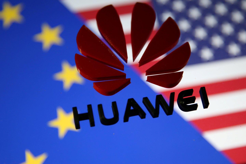 """JAV iždo sekretorius Stevenas Mnuchinas galimai pranešė savo kolegoms Japonijoje, kad """"Huawei"""" gali sulaukti sankcijų sušvelninimo, jei JAV ir Kinijos derybos bus sėkmingos.<br>Reuters / Scanpix nuotr."""
