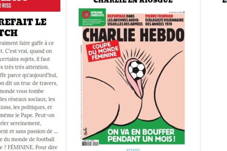 """Pirmasis žurnalo """"Charlie Hebdo"""" žurnalo viršelis<br>Charlie hebdo nuotr."""
