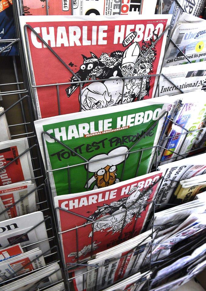 """L.Sourisseau teigė nenorįs, kad aplinkiniai galvotų, jog """"Charlie Hebdo"""" yra apsėstas islamo.<br>AFP/Scanpix nuotr."""