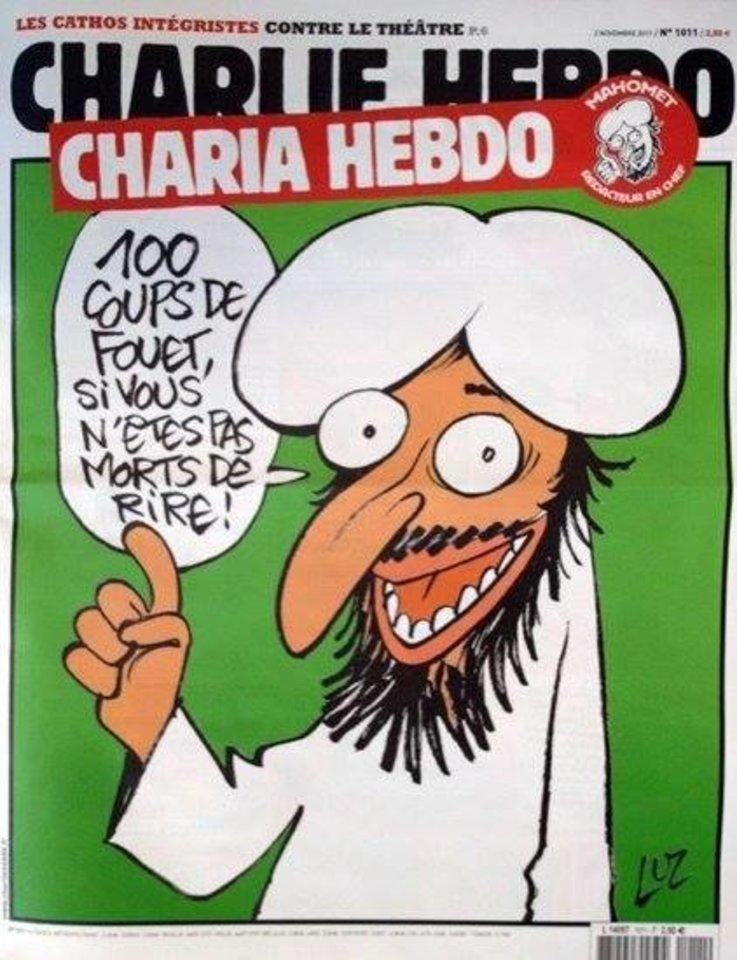 """""""Charia Hebdo""""<br>Facebook nuotr."""