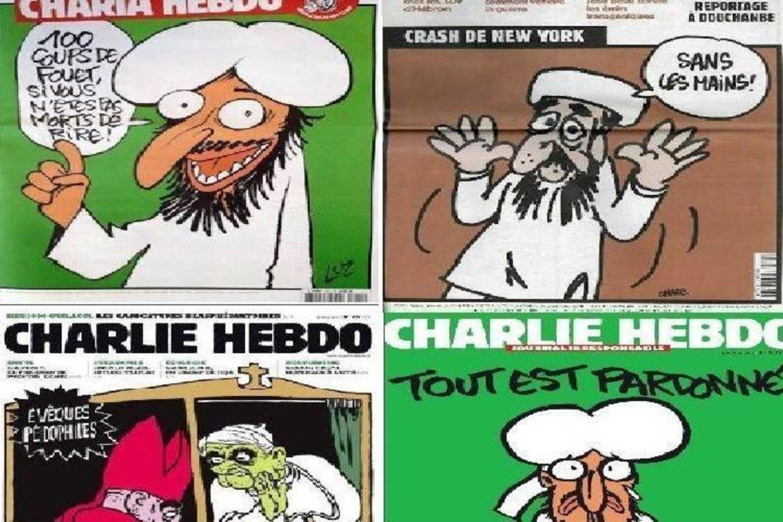 """Prancūzijos savaitraščio """"Charlie Hebdo"""" redakcija niekada nevengė šokiruoti skaitytojų."""