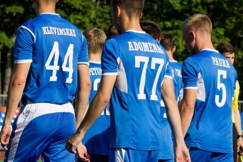 """Kauno """"Stumbro"""" futbolininkai neatvyko į A lygos rungtynes.<br>fkstumbras.lt nuotr."""