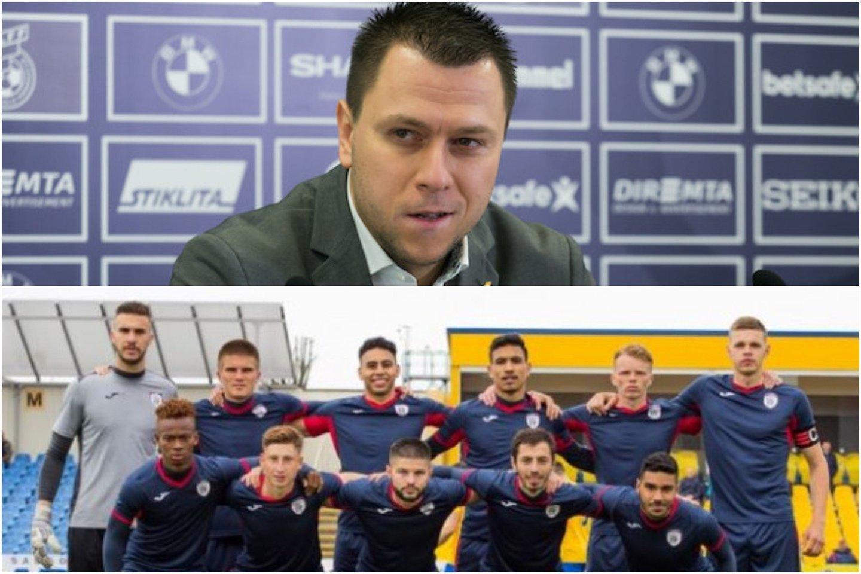 """LFF vienas vadovų Edgaras Stankevičius atmeta """"Stumbro"""" skundus dėl federacijos abejingo požiūrio į klubą.<br>T.Bauro/fkstumbras.lt nuotr."""